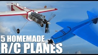 5 Incredible Homemade RC Planes   Flite Test