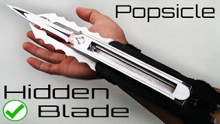 Assassins Creed TRIPLE Hidden Blade - made from popsicles