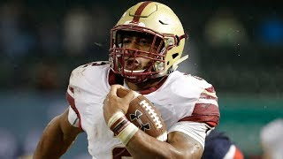 HIGHLIGHTS: AJ Dillon Carries Boston College Over UConn | Stadium