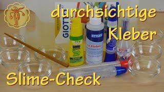 Slime-Check: 7 durchsichtige Kleber im Test