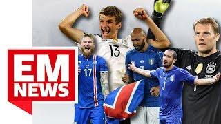 Müller veräppelt Chiellini und Zazas Elfer-Tänzchen - EM-News