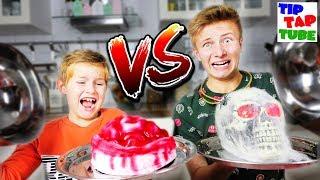 🎃 Halloween Gummy vs. Real 💀 Grusel Essen 👻  TipTapTube 😈