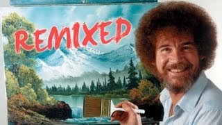 Bob Ross Remixed | Happy Little Clouds | PBS Digital Studios