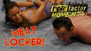 Fear Factor Moments | Meat Locker