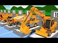 Trucks Construction Show for Kids - Exca...