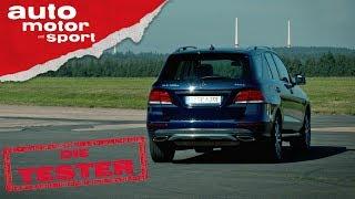 Mercedes GLE 500e: Öko-SUV? - Die Tester | auto motor und sport