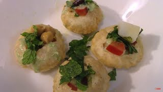 Homemade Gol Gappy - Pani Puri - Golgappa Recipe- Pakistani/Indian Cooking with Atiya