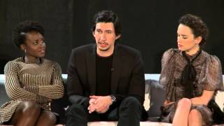 Star Wars The Force Awakens Press Conference - Carrie Fisher, Daisy Ridley, Adam Driver, JJ Abrams-6