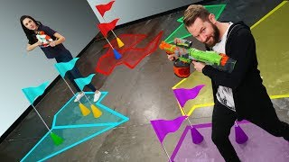 NERF Conquer the World Challenge!