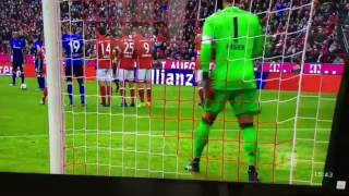 Naldo FREEKICK GOAL vs FC Bayern