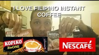 In love with Philippines 🇵🇭 : American loves filipino coffee