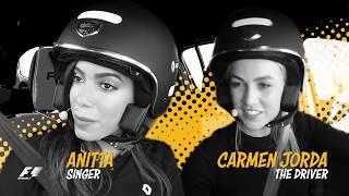 Anitta, Marina Ruy Barbosa and Bruno Gagliasso on track in Brazil