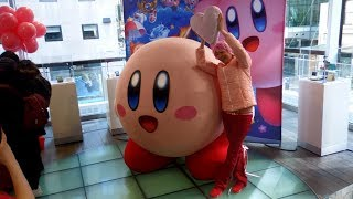 Kirby Star Allies Launch Event at Nintendo NY