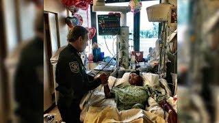 Er rettete 20 Mitschüler in Florida vor dem Tod! Nun kämpft er selbst!
