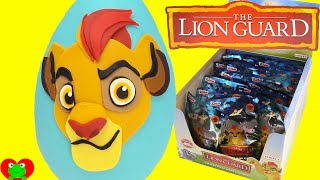 Disney Lion Guard Kion Play Doh Surprise Egg and Blind Bags