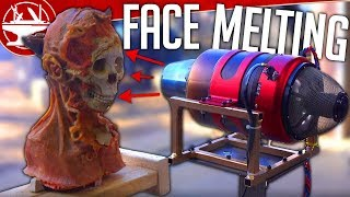 Jet Engine VS FACE (Flying Like Iron Man Update)