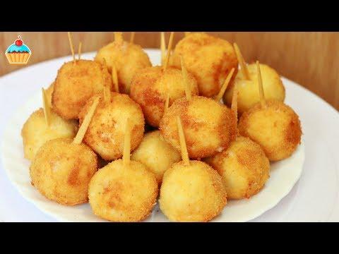 Рецепт сырные шарики видео