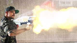 FIREBALL NERF Blaster!
