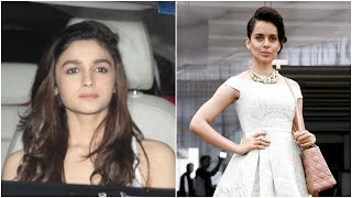 Alia Gives Back To Kangana | Bollywood News