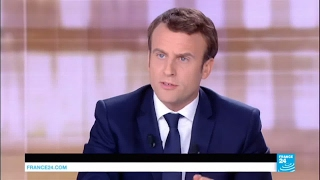 """Emmanuel Macron to Marine Le Pen: """"You have nothing to propose!"""""""