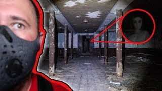 EXPLORING INSANE ASYLUM HAUNTED TUNNEL