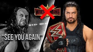 10 Things WWE Should NOT Do At WrestleMania 35