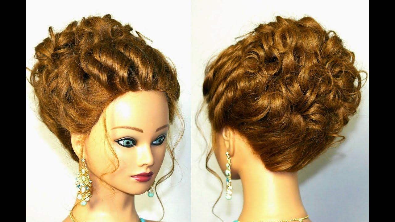 Прически на тонкие волосы длинные своими руками