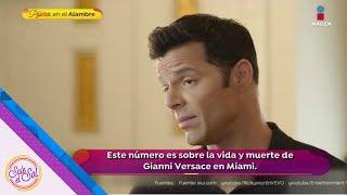 Ricky Martin habla de la serie donde interpreta al amante de Versace | Sale el Sol