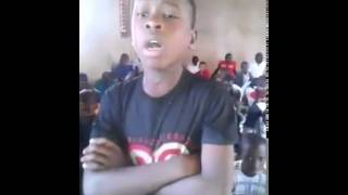 Amazing Voice from African boy