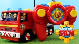 Feuerwehrmann Sam Spielzeug - Feuerwehrmann Sam Figur / RC Feuerwehrfahrzeug Jupiter | Werbung
