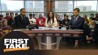 Stephen A. and Max react to new video of Cavaliers bench after JR Smith blunder | First Take | ESPN