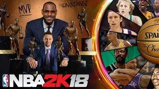 Wheel of NBA MVPs