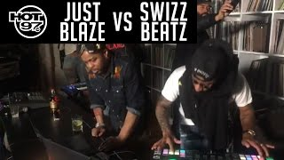 Swizz Beatz VS Just Blaze - HOT97 LIVE