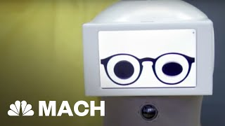 Meet Peeqo, The Adorable, Sassy Robot That Speaks In GIFs | Mach | NBC News