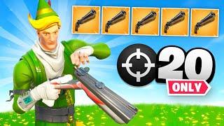 Double Barrel Shotgun *ONLY* (20 Elims)