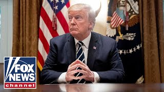 Trump participates in a roundtable at the southern border