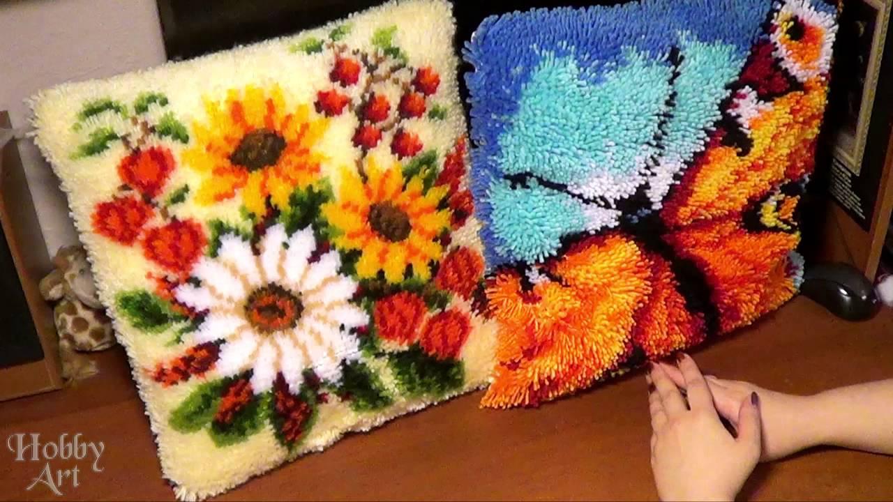 Подушки ковровой техникой