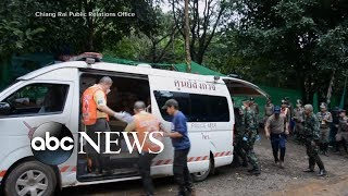 Rescue effort resumes for boys, coach still in Thai cave