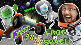 AMAZING FROG in SPACE! Creepy Kitten on Moon w/ Superman Kryptonite Laser? || FGTEEV Part 8