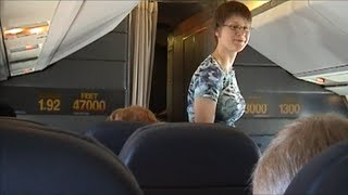 Concorde Flight-New York to London with detailed Captain