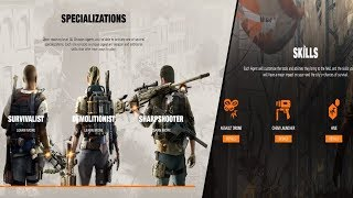 THE DIVISION 2 - NEW SPECIALIZATIONS & ABILITIES | EVERYTHING YOU NEED TO KNOW (SIGNATURE WEAPONS)