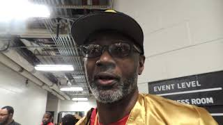 DEONTAY WILDER: BREAZEALE CAREER IS OVER, BREAZEALE WALKED INTO MY RIGHT HAND, NEVER HAD A CHANCE