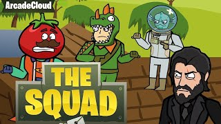Original Fortnite Animation | LOOT LAKE | The Squad Ep. IV