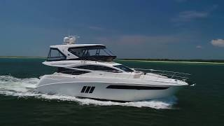 Space and Beauty: 2017 Sea Ray L590 Fly For Sale at MarineMax Wrightsville Beach