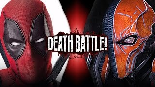 Deadpool VS Deathstroke (Marvel VS DC) | DEATH BATTLE!