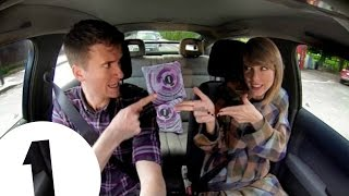 Taylor Swift & Greg James Sing Blank Space