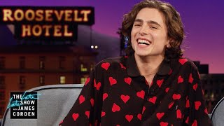 Timothée Chalamet Had a Hip Hop Alter Ego