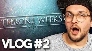 GAME OF THRONES: Road to THRONE WEEKS - Vlog #2