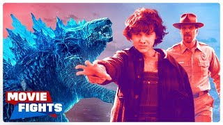 Godzilla vs Stranger Things?! APOCALYPSE MOVIE FIGHTS