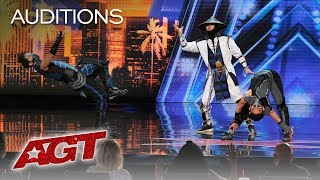 WOW! EPIC Dance Crew Delivers Mortal Kombat x Street Fighter Show - America